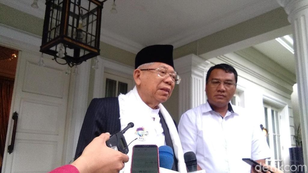 Diprediksi Menang di Survei Charta, Maruf Amin Gaspol Kampanye