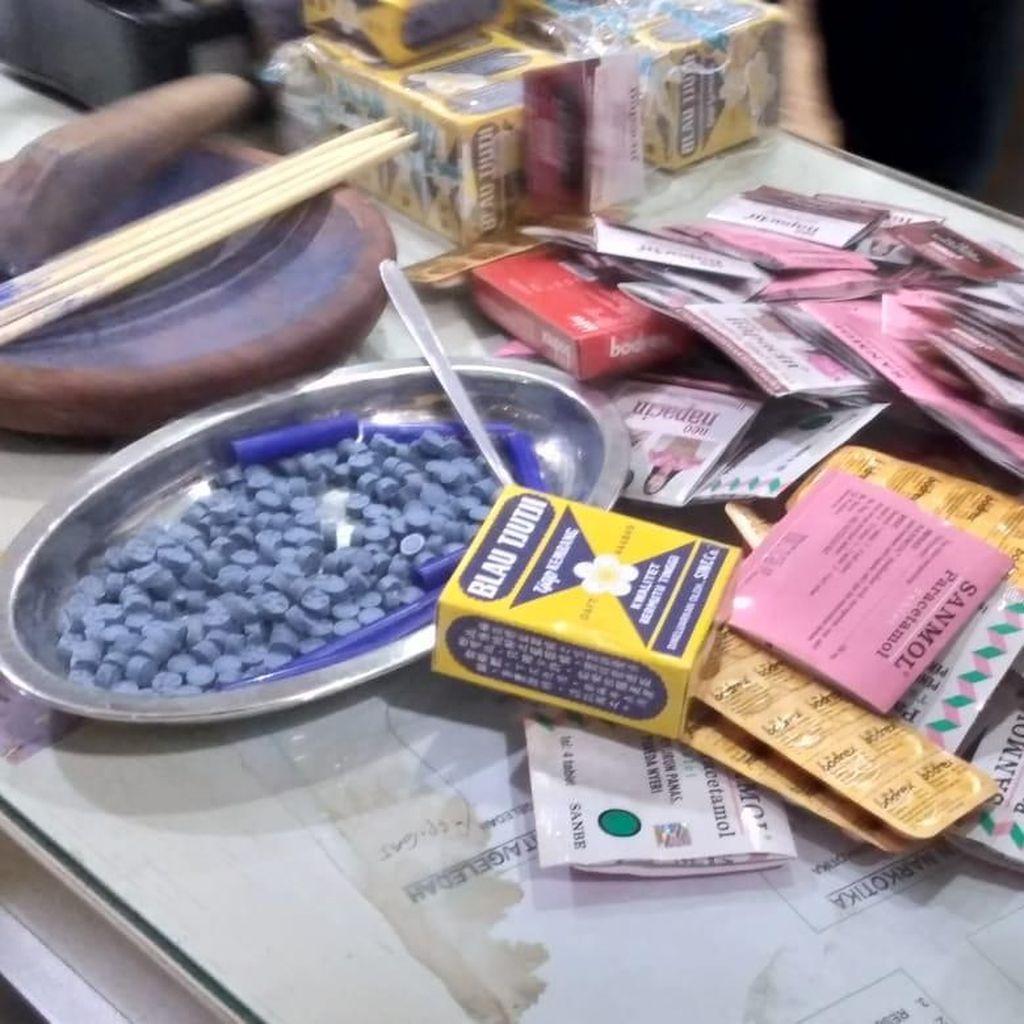 Kandungan Ekstasi Palsu di Tamansari: Paracetamol hingga Blauw