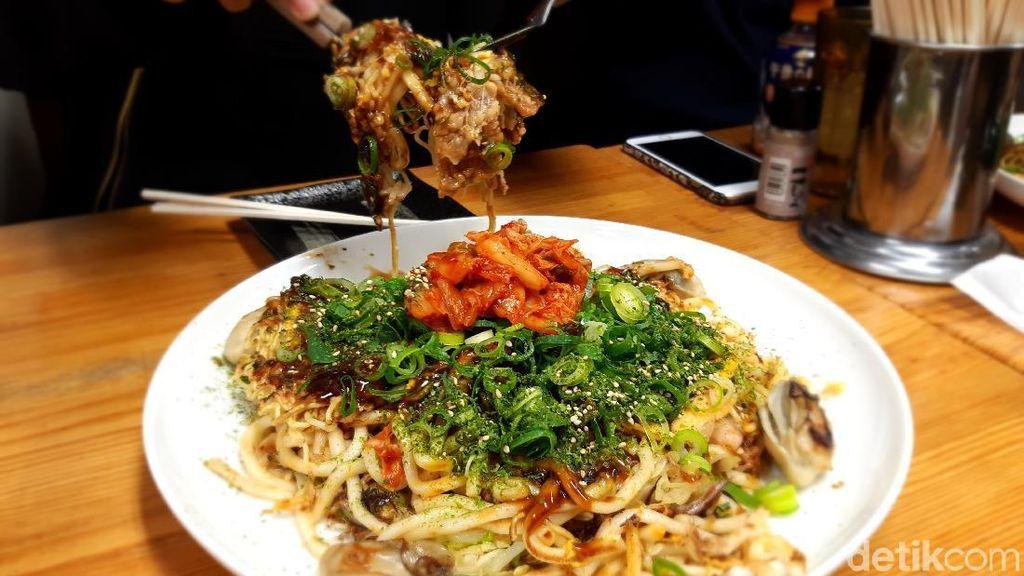 Liburan ke Hiroshima, Wisata Kulinernya Okonomiyaki