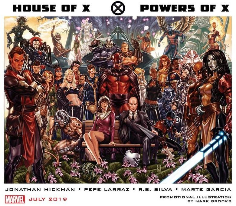 Marvel Comics Terbitkan Ulang Komik X-Men, Ditulis Komikus Legenda  Foto: Istimewa