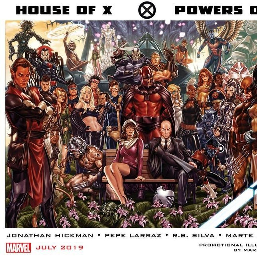 Rencana Besar Marvel Comics untuk X-Men, Salah Satunya Komik Digital