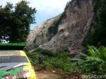 Evakuasi Korban Longsor Gunung Kapur Diawali Peledakan Tebing
