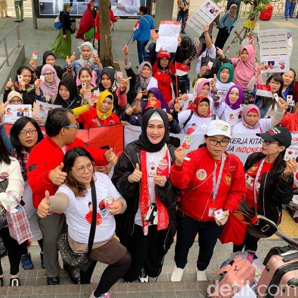 Pertiwi Jatim Rangkul WNI di Hong Kong Dukung Jokowi