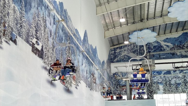 Trans Snow World Bekasi (Annisa Karneysia/HaiBunda)