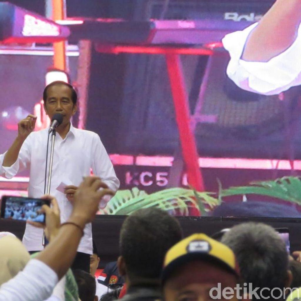 Jokowi Ajak Pendukung Datang ke TPS dengan Baju Putih