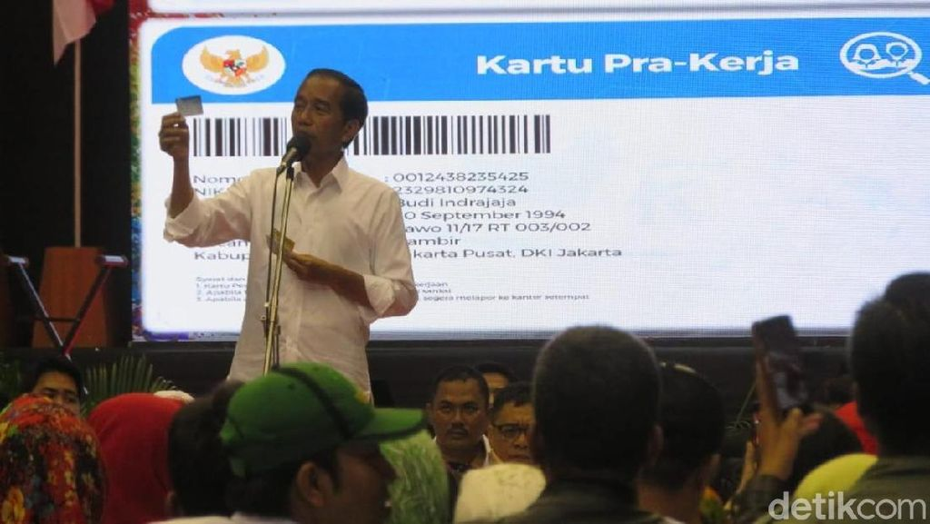 Ini Dia Kategori Pengangguran Dapat Gaji dari Jokowi