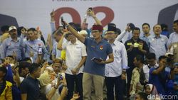 Kampanye di Jakarta, Sandiaga Teringat Masa Pilgub DKI 2017