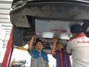 Pasang Bordes Perkuat Under Guard Wuling Cortez