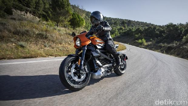 Motor listrik Harley-Davidson LiveWire