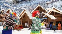 Masih Punya Sisa Cuti Lebaran? Yuk, Main Salju di Bekasi