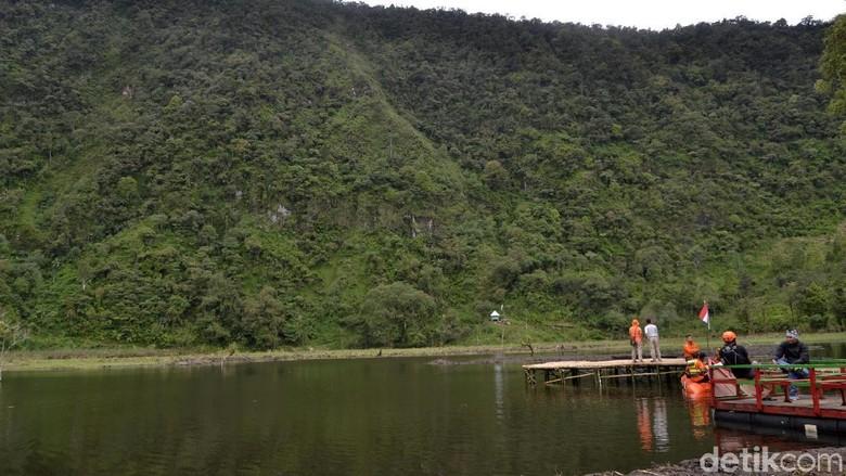 Telaga Sigebyar di Kabupaten Pekalongan (Robby Bernardi/detikcom)