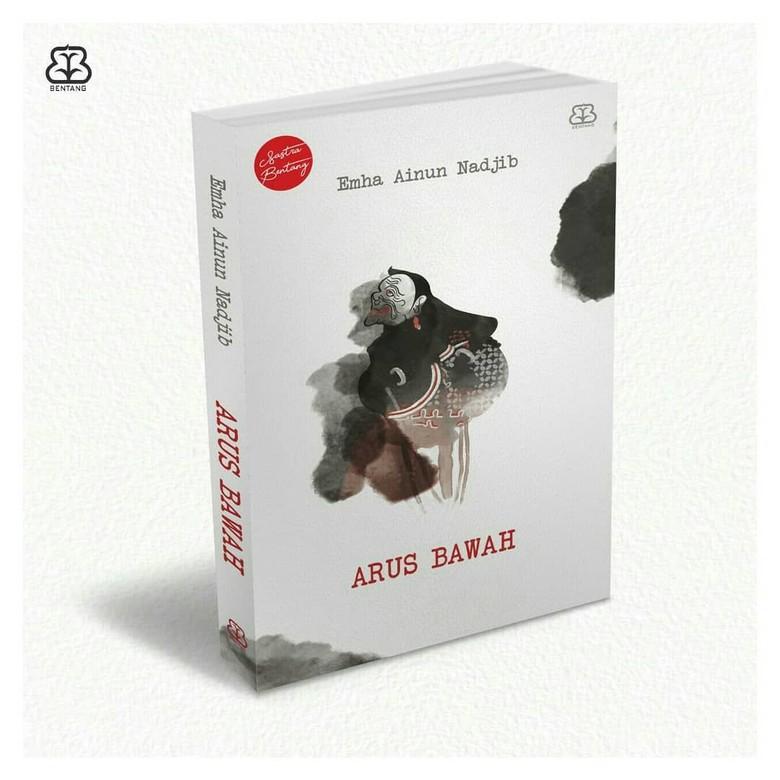 Novel Arus Bawah Cak Nun Cetak Ulang dengan Gambar Kiar Semar Terbaru Foto: Bentang Pustaka/ Twitter