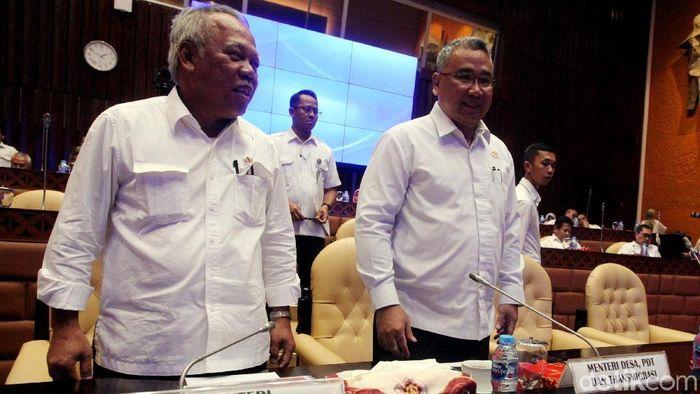 Menteri PUPR dan Mendes PDTT/Foto: Lamhot Aritonang
