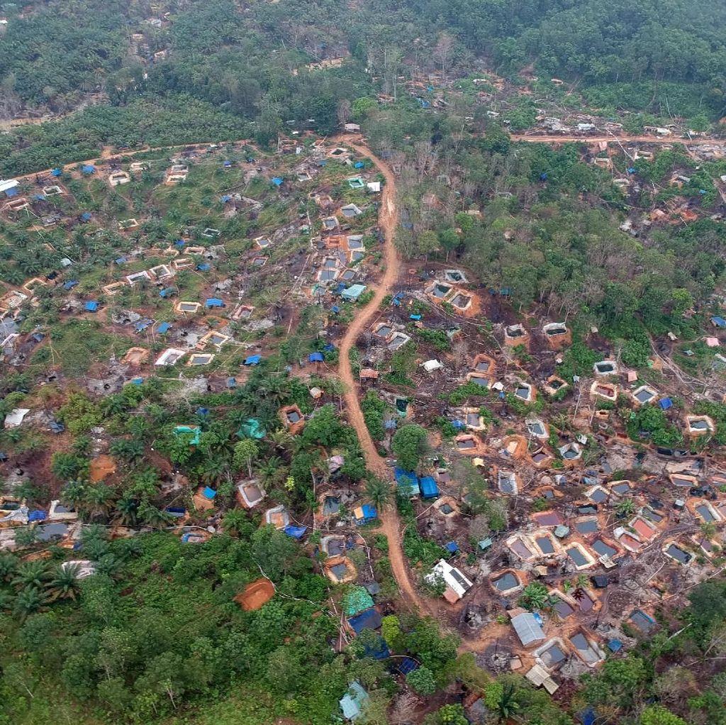 Duh, Hutan di Jambi Beralih Fungsi Jadi Pengeboran Minyak Ilegal