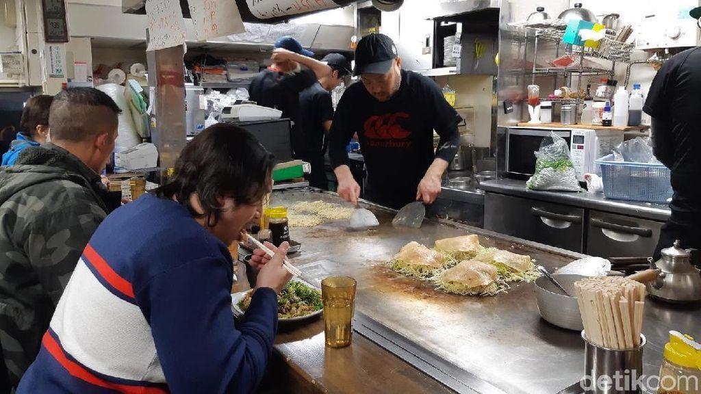 Foto: Atraksi dan Wisata Kuliner Okonomiyaki di Hiroshima