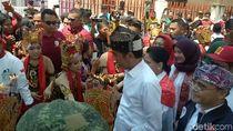 Kampanye di Banyuwangi, Jokowi Disambut Koor Simpatisan dan Relawan