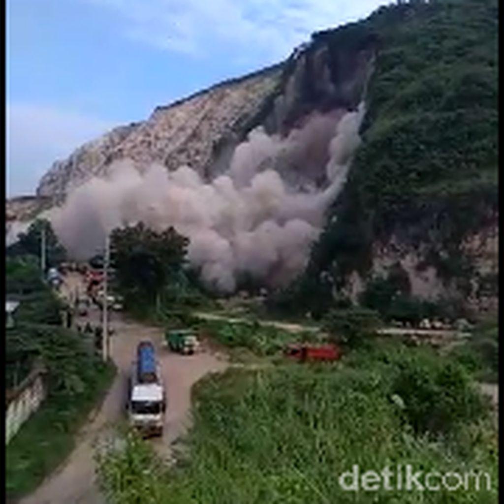 Gunung Kapur di Jember Longsor, Satu Penambang Dilaporkan Tewas Tertimbun