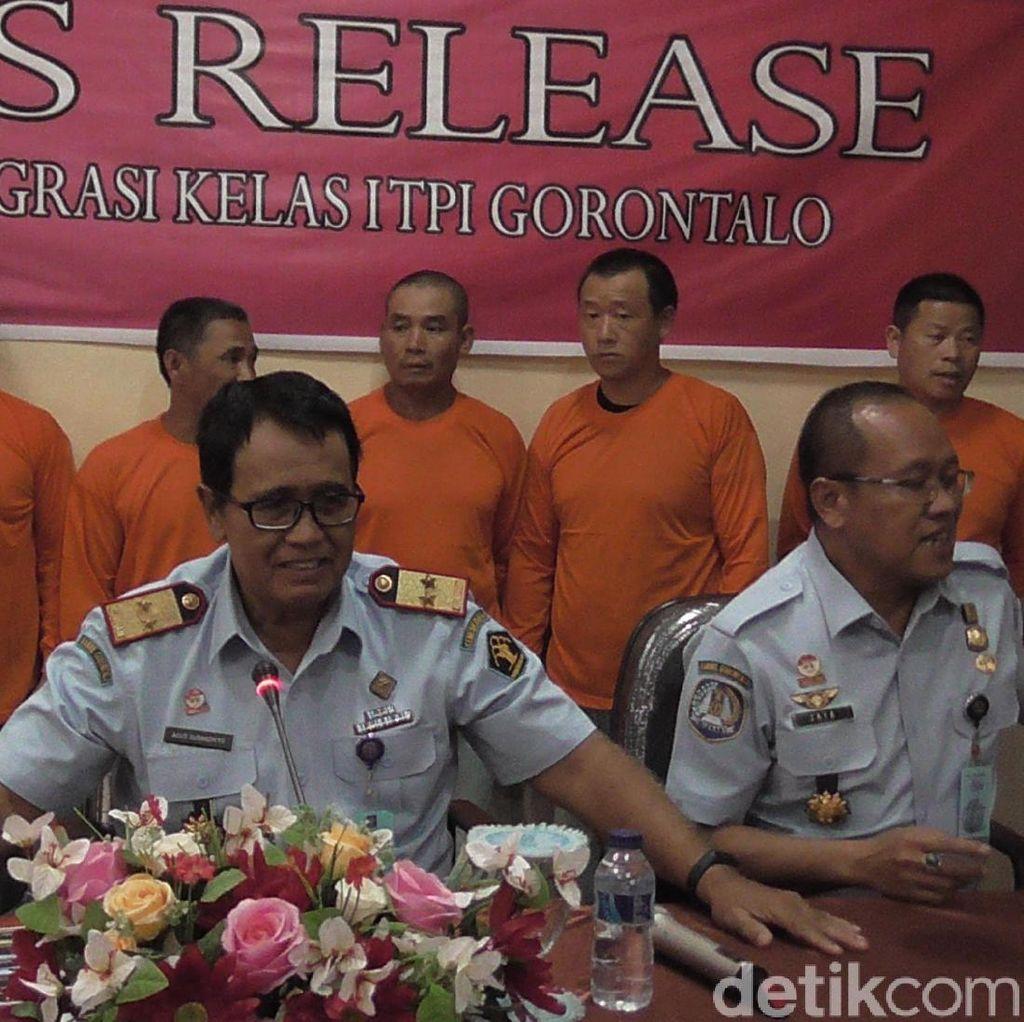 Punya Visa Kunjungan tapi Kerja di Tambang Gorontalo, 6 WN China Ditangkap