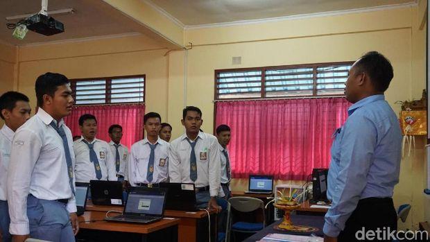 Ada 32.102 siswa-siswi di seluruh Bali yang mengikuti UNBK