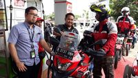 Pertamina Enduro Touring Gresik-Sabang, Kini Masuki Etape 4 Bengkulu