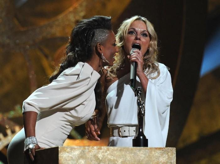 Mel B dan Geri Halliwell (Foto: Getty Images)