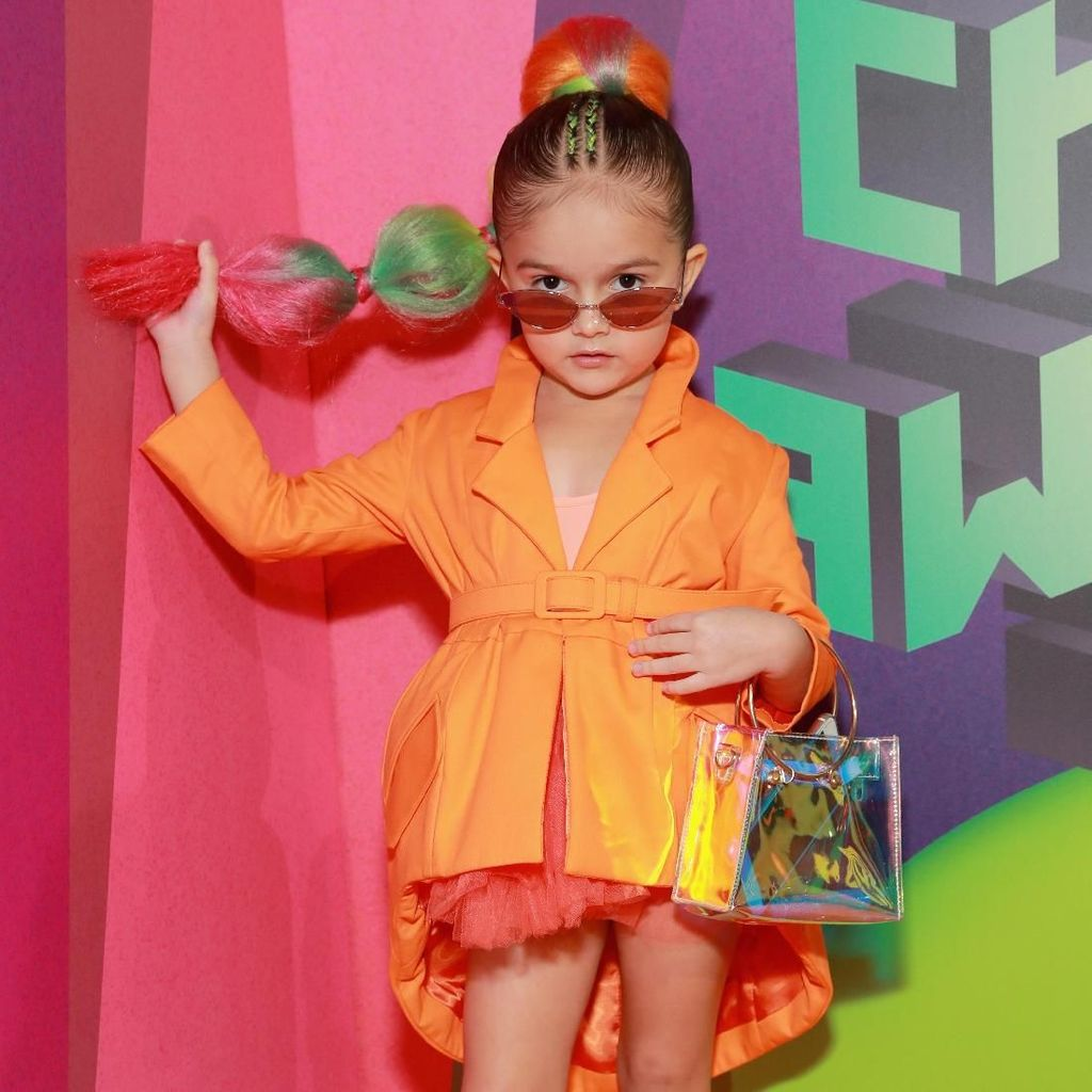 Aksi Si Lucu Taylen Biggs di Kids Choice Awards 2019