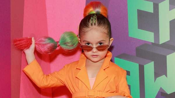 Aksi Si Lucu Taylen Biggs di Kids Choice Awards 2019