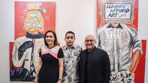 Lukisan 'HAHA' Naufal Abshar Bergema di Singapura