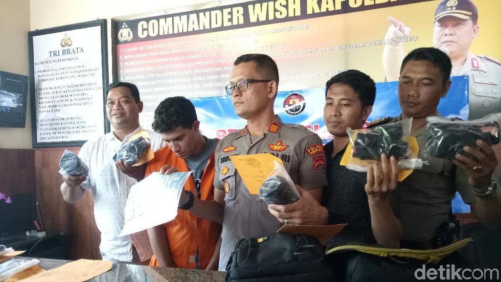 WN Aljazair Ditangkap Polisi Gegara Curi Kamera Milik Turis Jerman di Bali