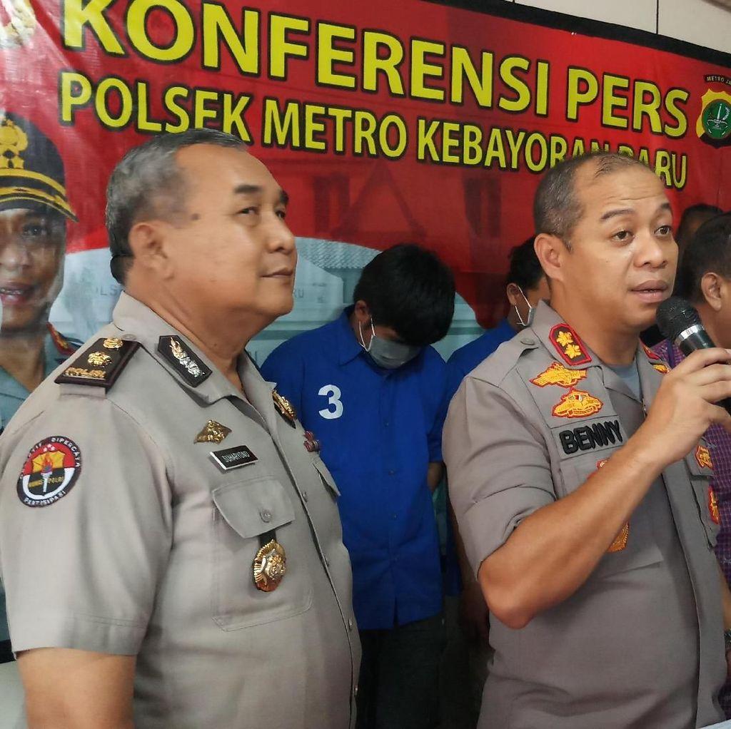 Curi Belasan Motor, Komplotan Pencuri di Jaksel Ditangkap Polisi