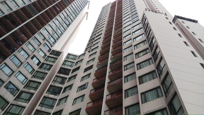 Foto: Apartemen Taman Rasuna (Farih Maulana-detikcom)