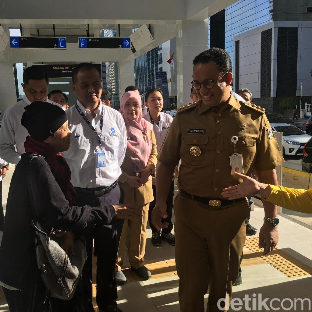 Anies Minta Tarif MRT Tak Pikirkan 17 April, Gerindra: Pernyataan Pro-rakyat!