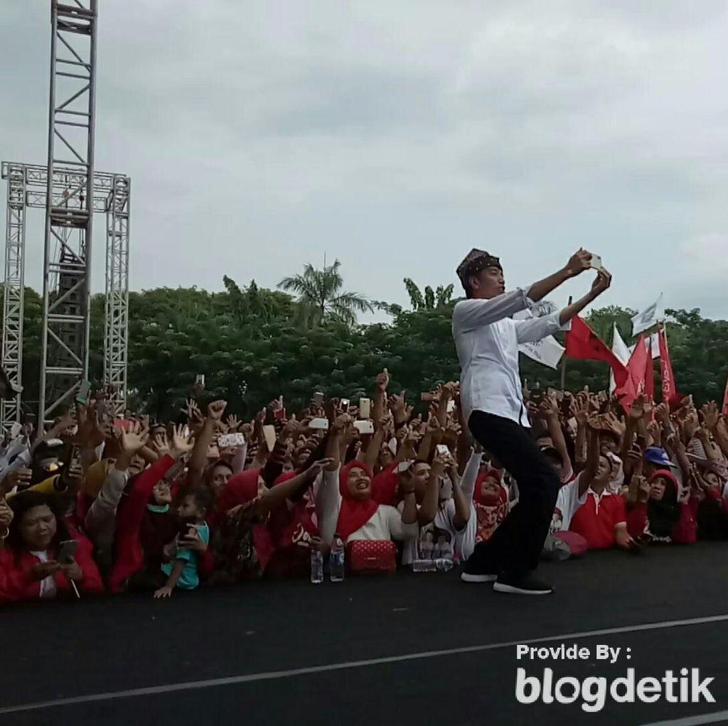 Kampanye Akbar, Jokowi Minta Jaga Silaturahmi Meski Beda Pilihan