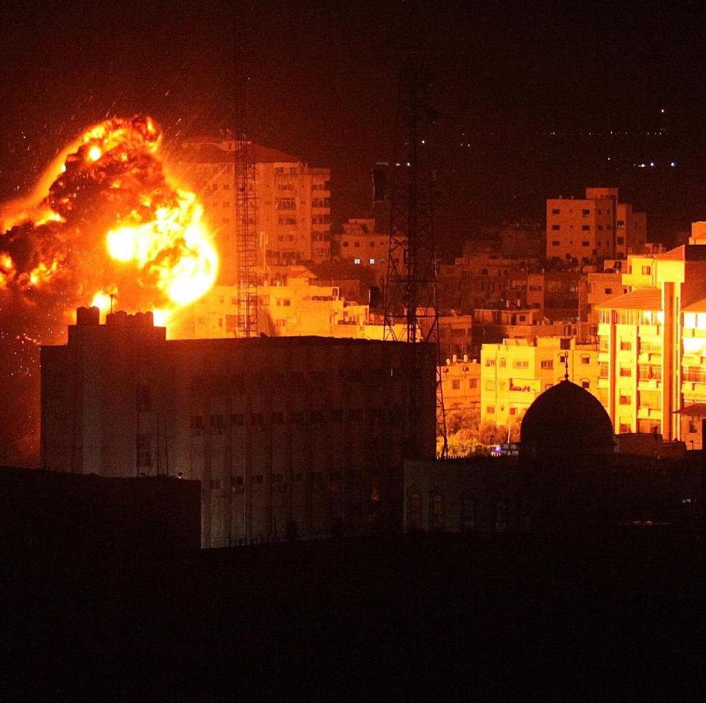 Memanas, Israel Kembali Serang Gaza