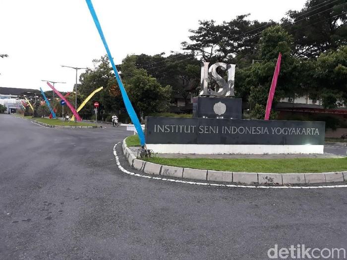 Institut Seni Indonesia (ISI) Yogyakarta, Selasa (26/3/2019).