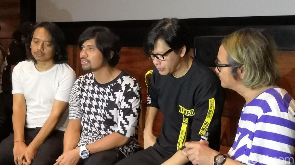 25 Tahun Berkarya, Gigi Bakal Gelar Konser Tunggal di Yogyakarta