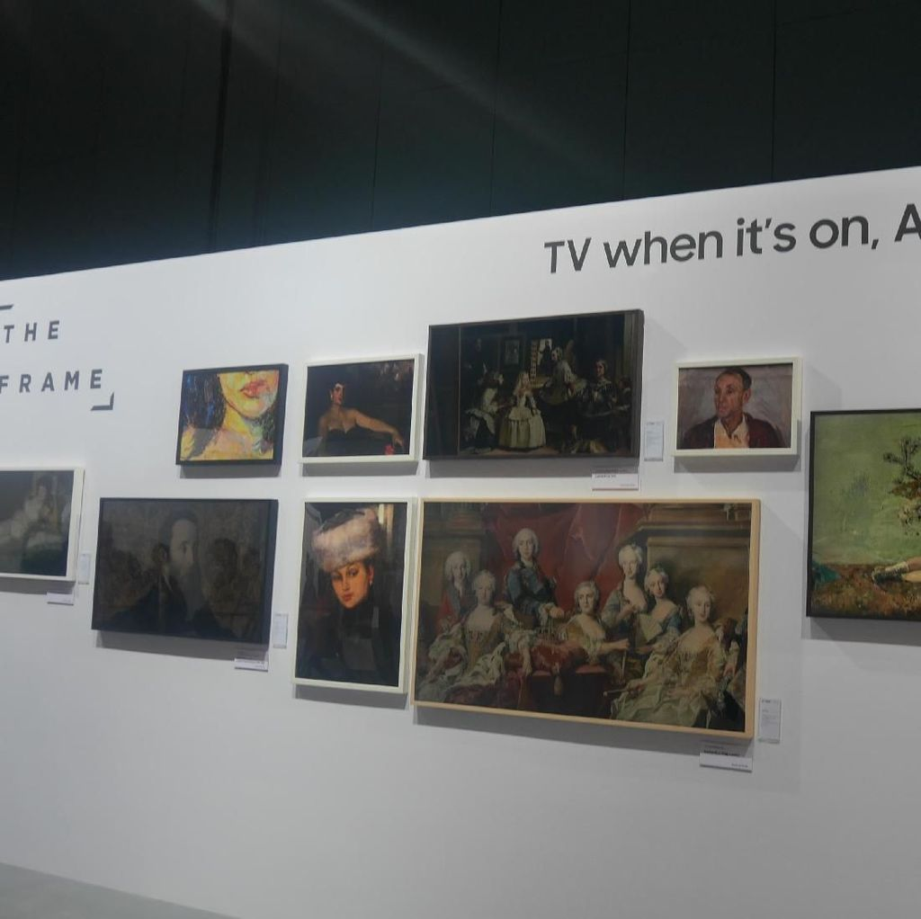 Fitur Ini Sulap Televisi Jadi Lukisan