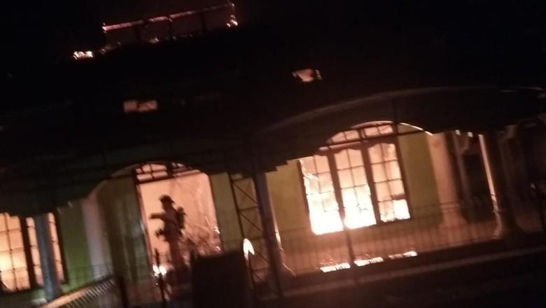 Masjid di Depok Kebakaran Jelang Subuh, Tak Ada Korban Jiwa