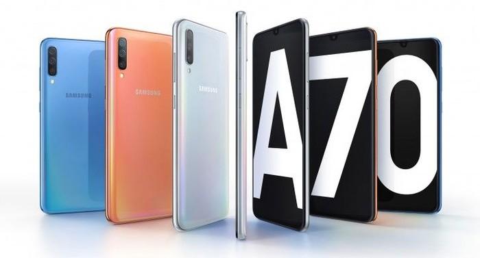 Samsung Galaxy A70. Foto: Samsung