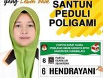 Tersebar Flyer Caleg PKS Peduli Poligami, Begini Faktanya