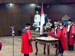 Wapres JK Hadiri Pelantikan Wakil Ketua MK Aswanto