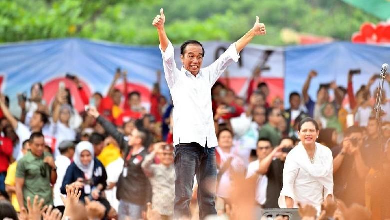 Ajak Coblos Baju Putih, Jokowi: Kalau Pakai Jas Mahal, Pakaian Orang Amerika!