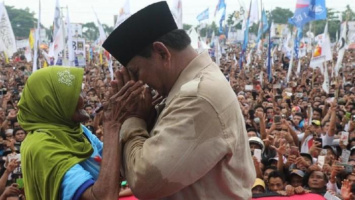 Foto: Prabowo Subianto di Mataram (Dok. Prabowo-Sandi Media Center)