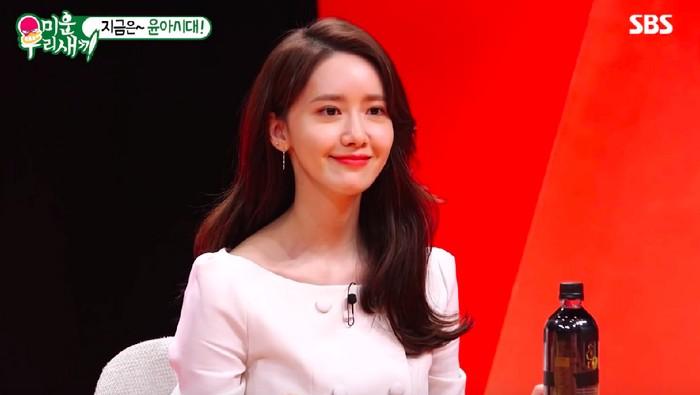 Penampilan Yoona SNSD yang membuatnya dikira operasi plastik. Foto: Screenshot YouTube SBS