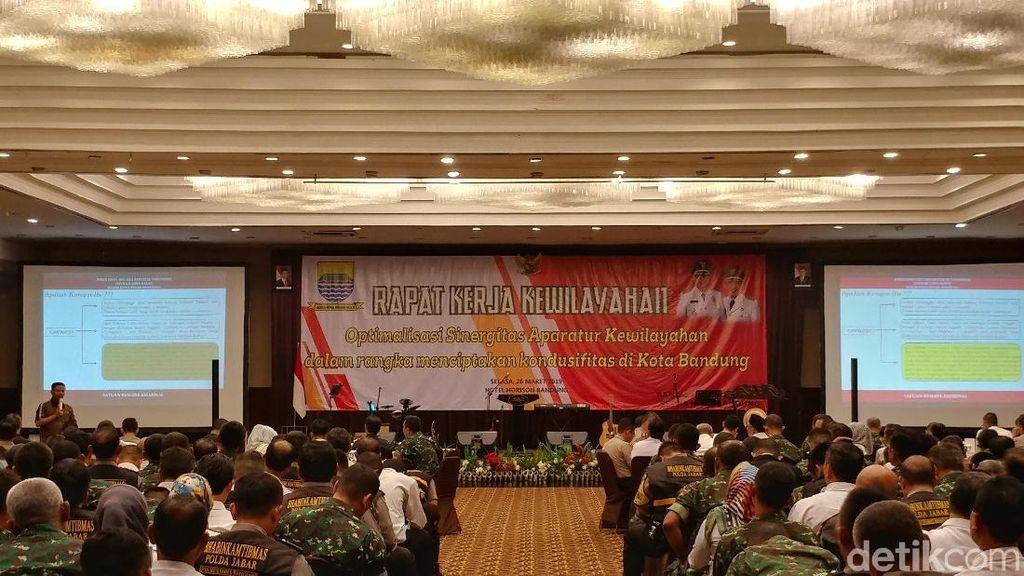 Jaga Bandung Kondusif, Pemkot Sinergikan 3 Pilar Kewilayahan