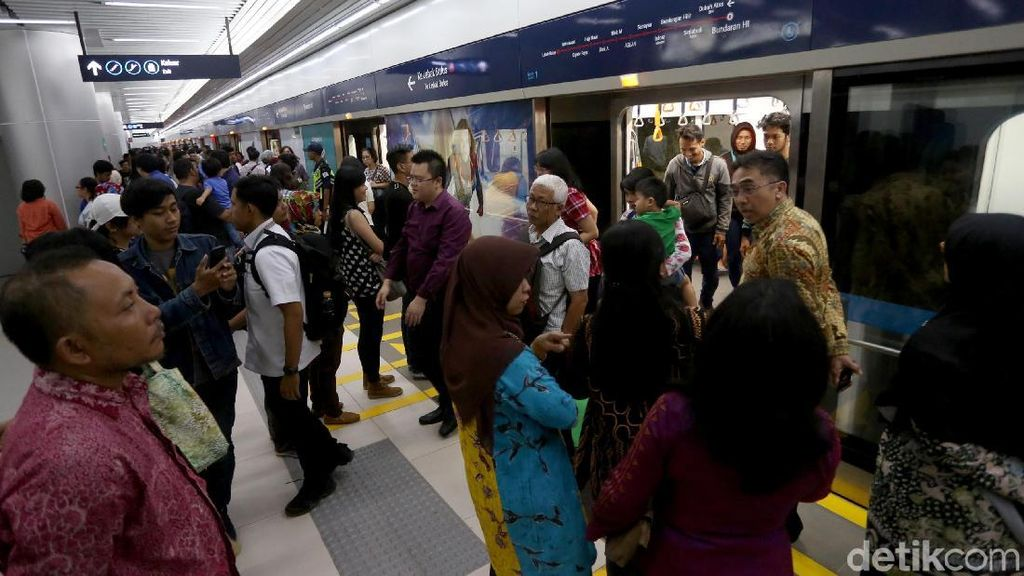 Tarif Rp 14.000, MRT Jakarta Balik Modal 48 Tahun Lagi