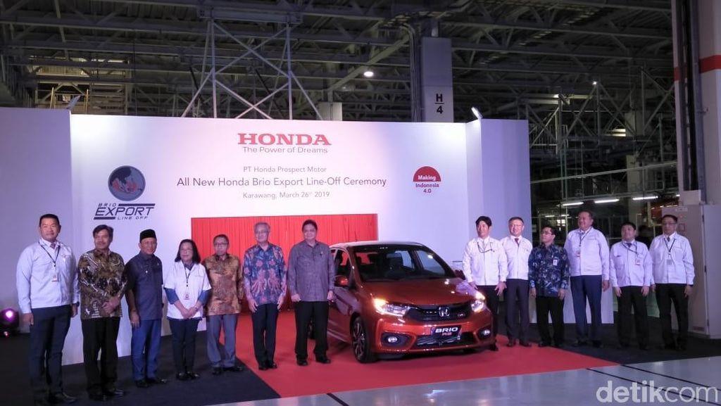Sebelum Brio, Honda Kepikiran Ekspor Mobilio, BR-V, Sampai HR-V