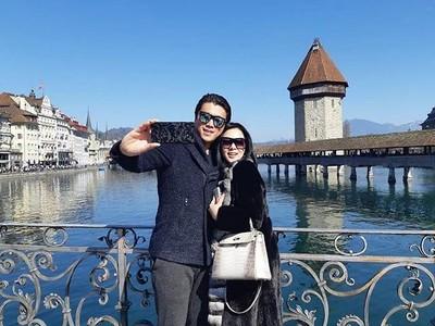 Jembatan Cantik Tempat Foto Syahrini dan Reino Barack di Swiss