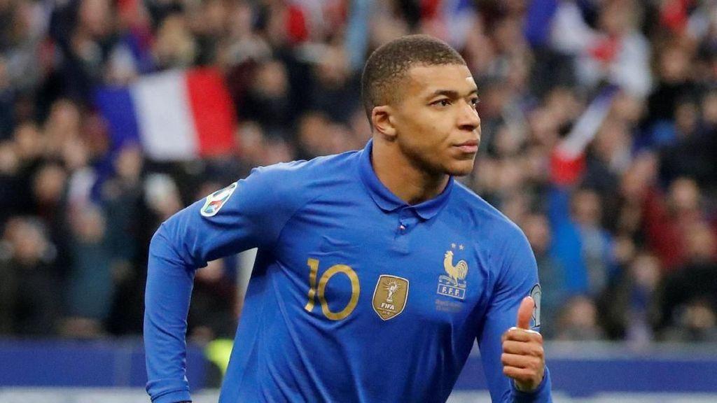 Cedera, Mbappe Dicoret dari Skuat Prancis