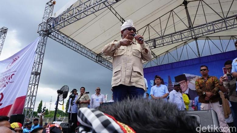Prabowo: Gunakan Hak Pilih, 17 April Tak Ada Jenderal atau Petani